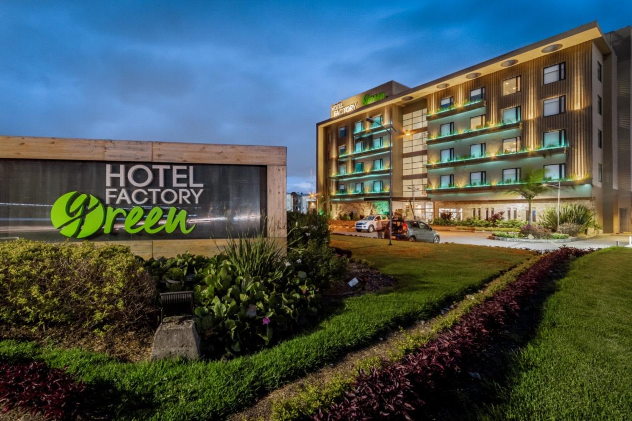 Fachada Hotel Factory Green