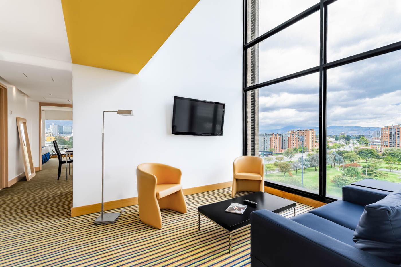 Habitación Hotel Wyndham Bogota